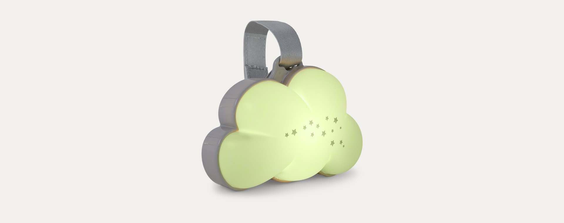White PurFlo Dream Cloud Musical Portable Night Light