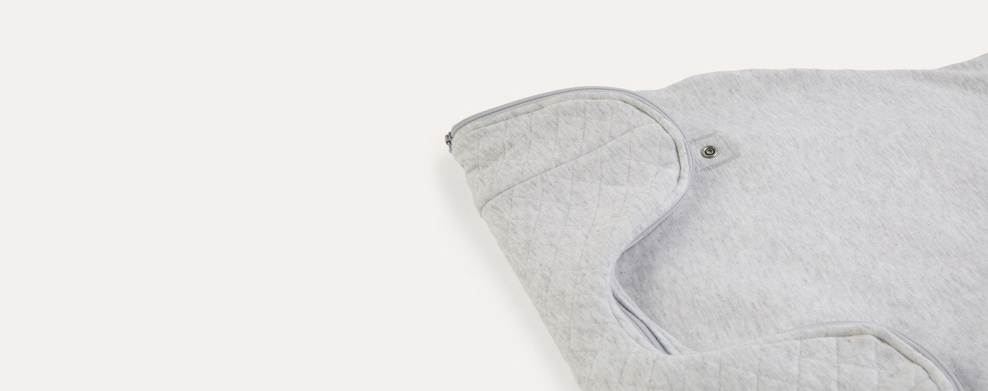 Minimal Grey PurFlo Swaddle to Sleep Bag All Seasons 2.5 Tog