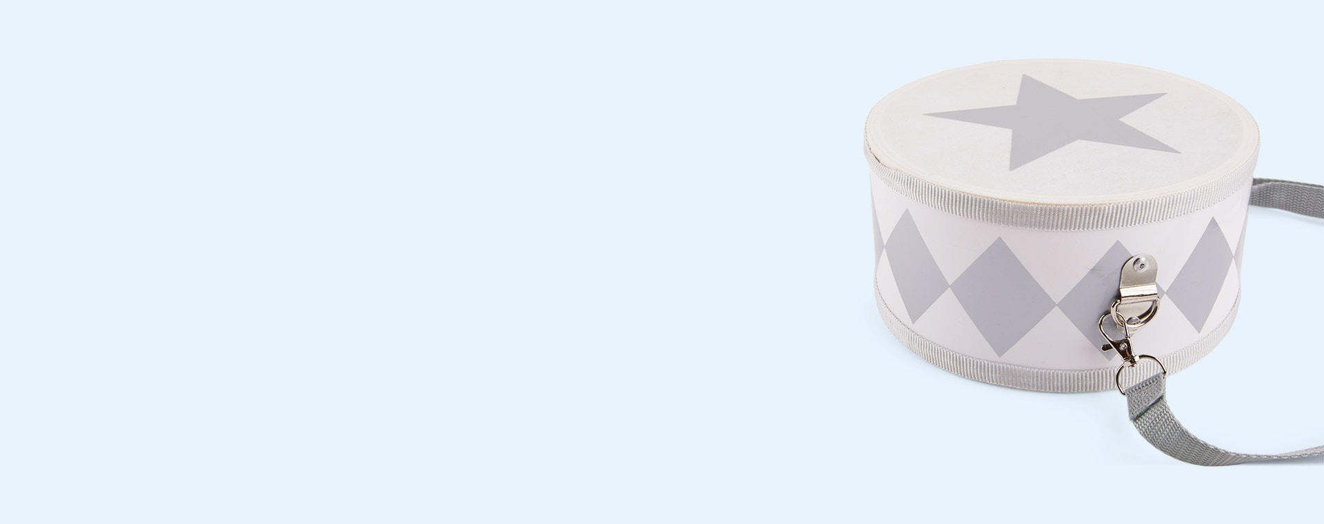 Silver Jabadabado Drum