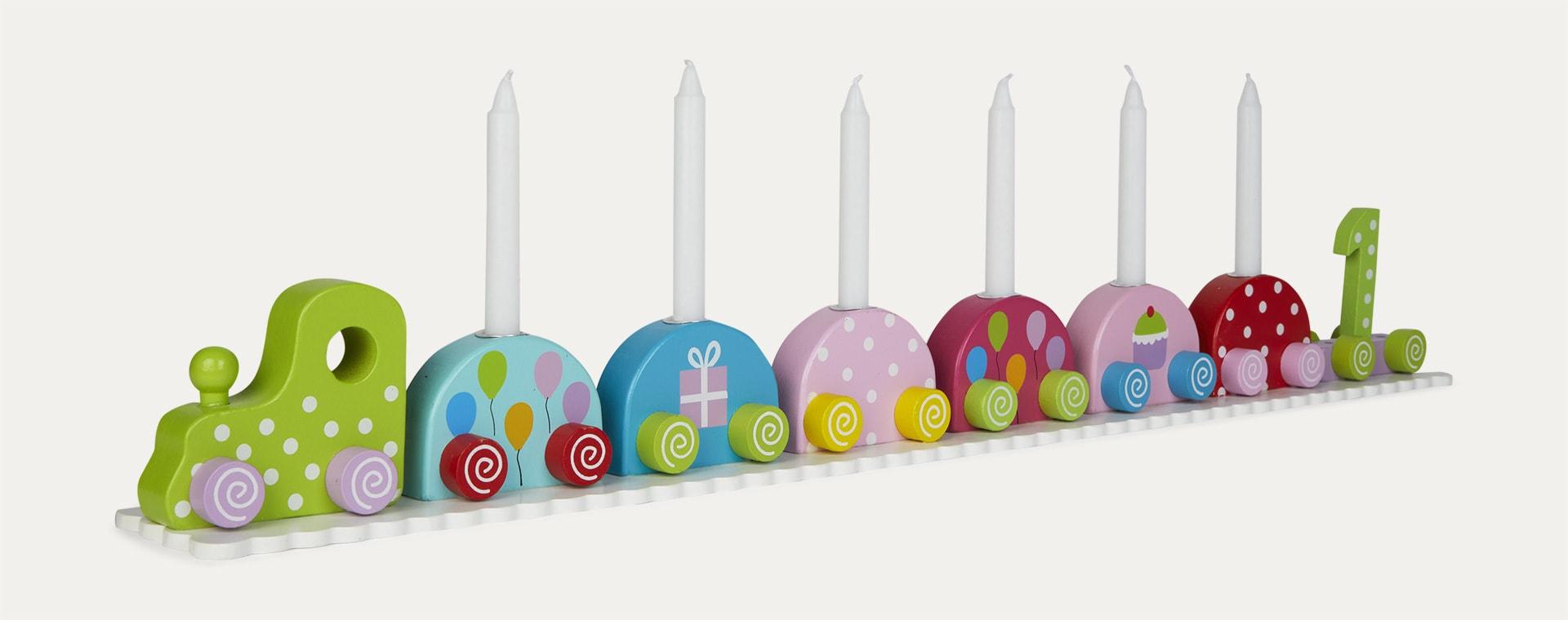Multi Jabadabado Candlestick Birthday Train