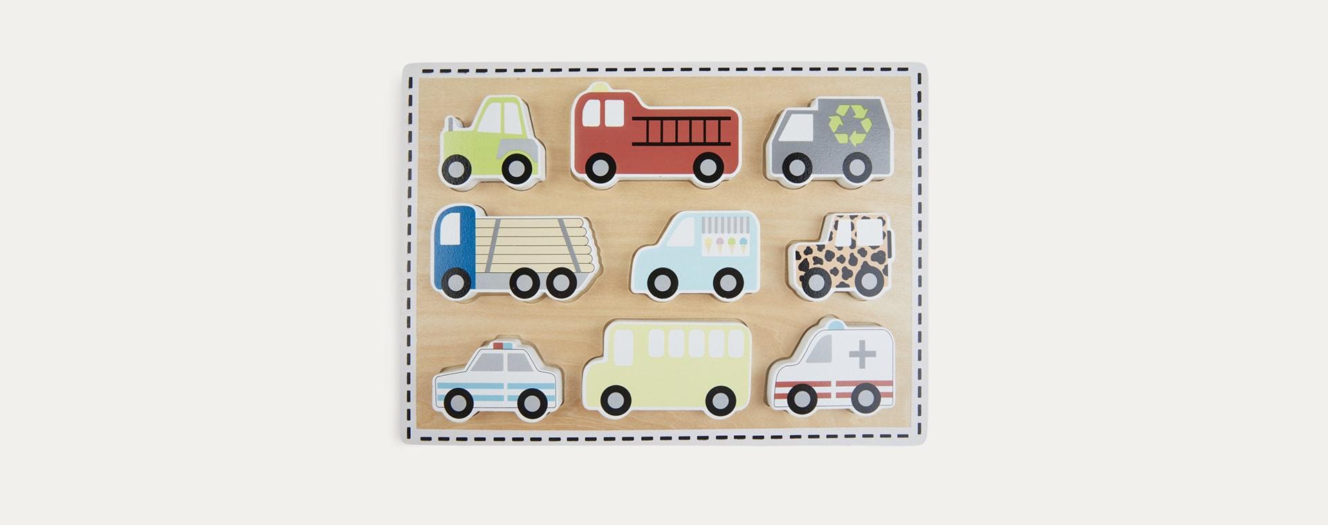 Multi Jabadabado Cars Puzzle
