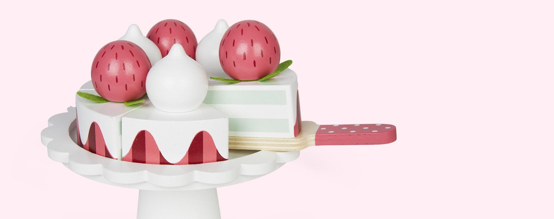 Multi Jabadabado Strawberry Cake