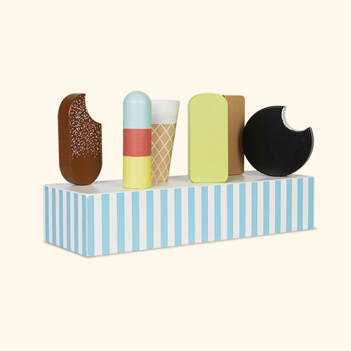Multi Jabadabado Retro Ice Cream Tray