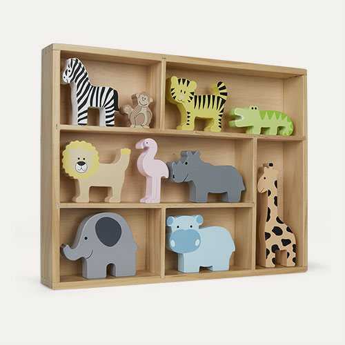 Safari Animals Jabadabado Display Shelf