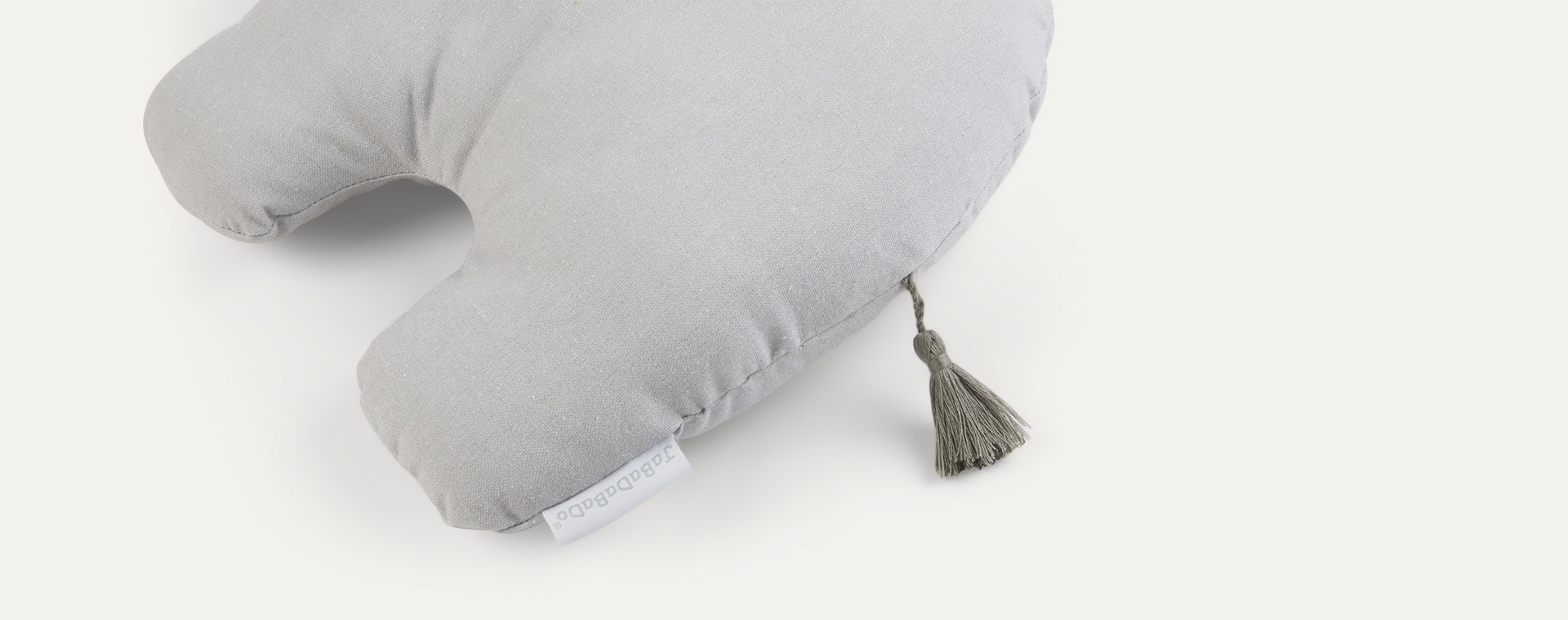 Grey Jabadabado Elephant Cushion