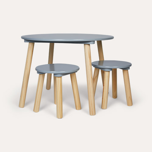 Grey Jabadabado Table and Stools