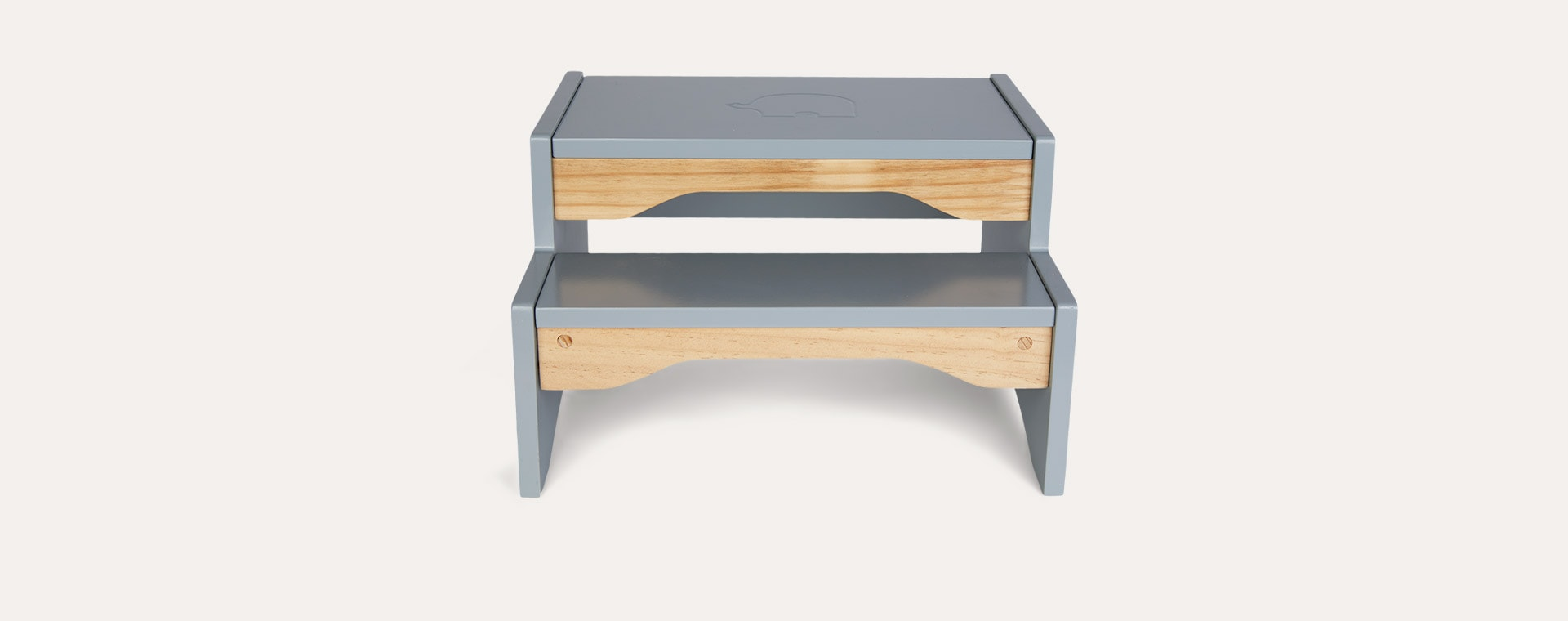 Grey Jabadabado Stepstool