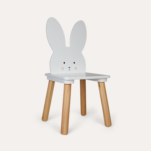 White Jabadabado Bunny Chair