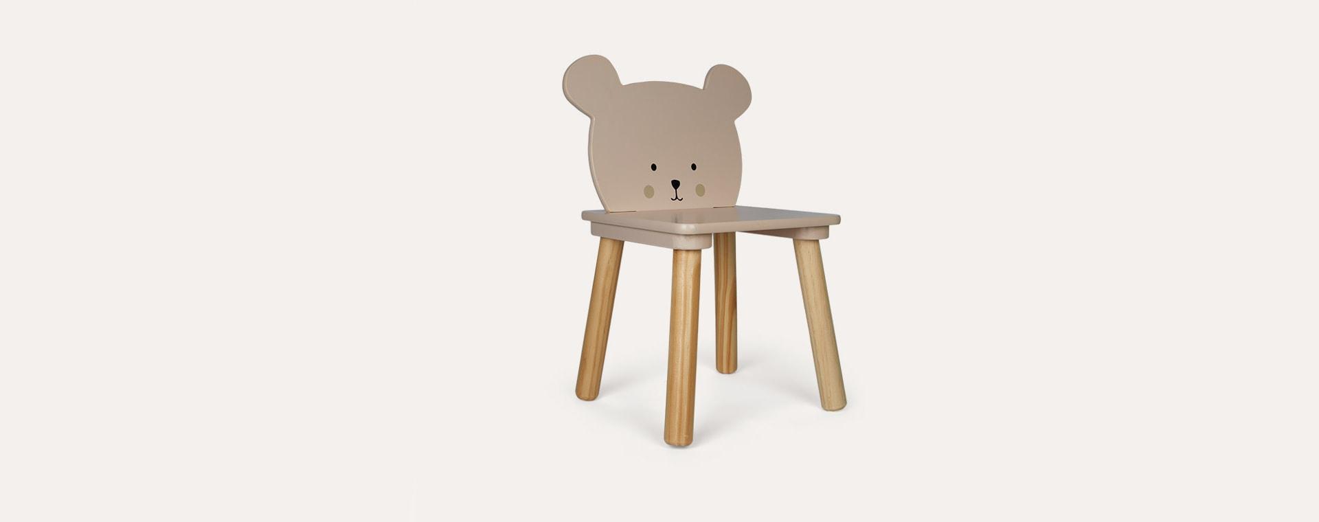 Brown Jabadabado Teddy Chair