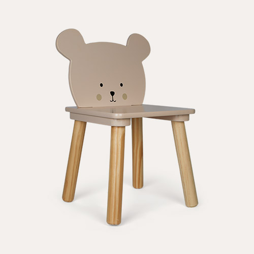 Brown Jabadabado Teddy Chair