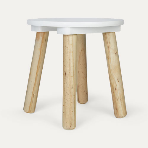 White Jabadabado Stool