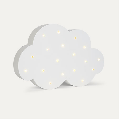 White Jabadabado LED Cloud Lamp
