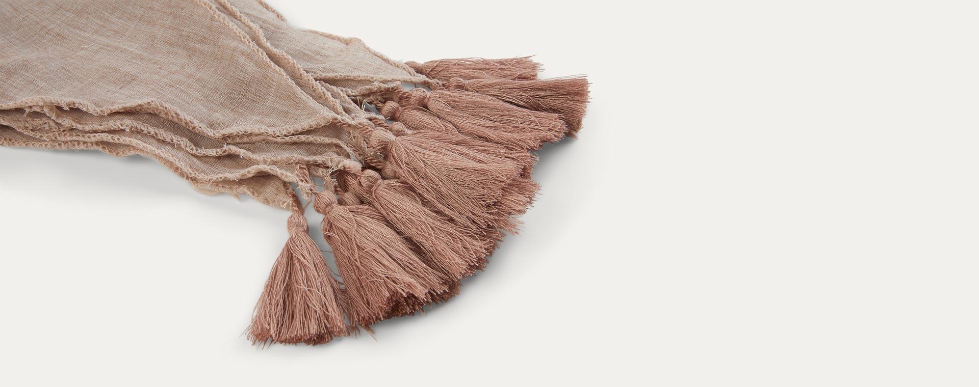 Pink Jabadabado Textile Bunting