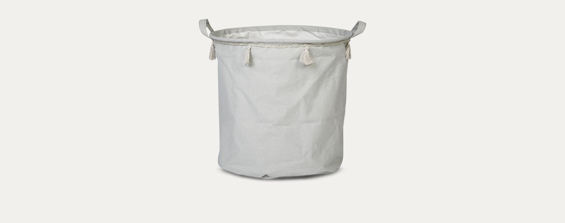 Grey Jabadabado Storage Basket
