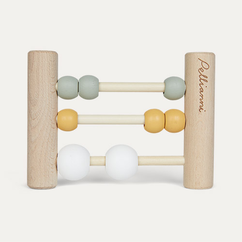 Mustard Pellianni Wooden Abacus