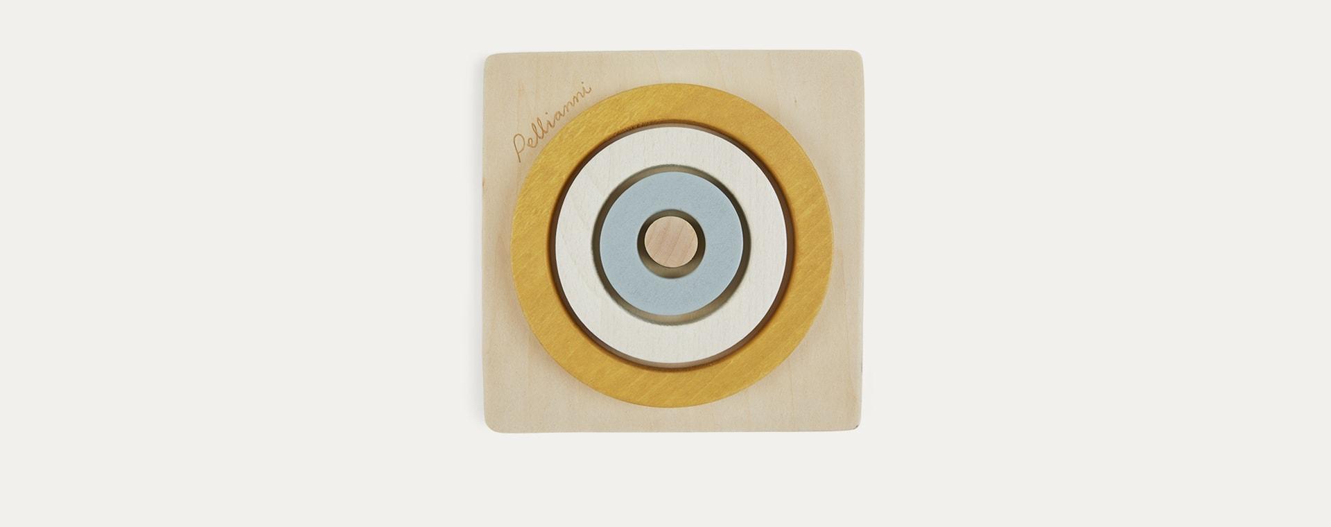 Mustard Pellianni Round Puzzle