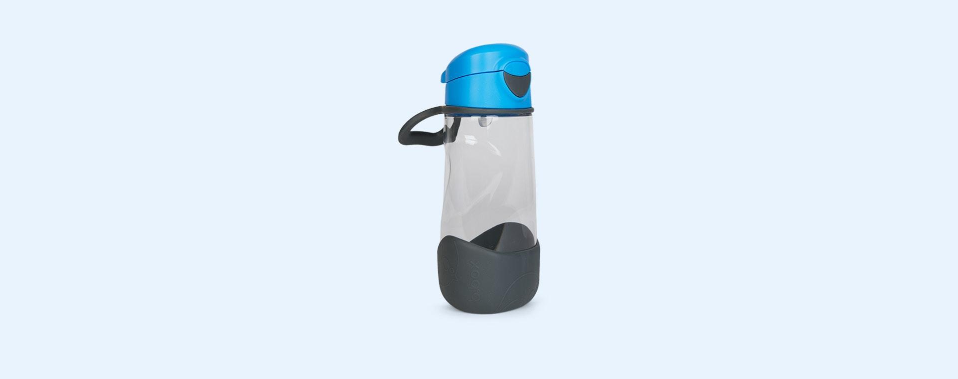 blue slate b.box Sport Spout Bottle