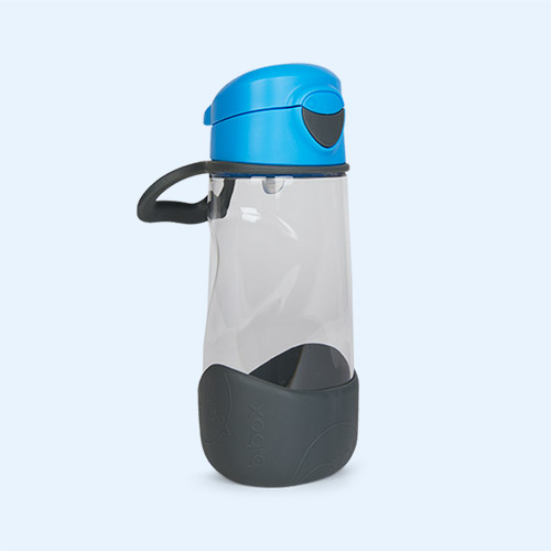 blue slate b.box Sport Spout Bottle