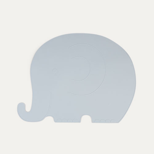 Blue OYOY Elephant Placemat