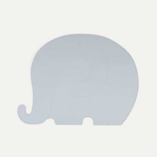 Blue OYOY Elephant Placemat