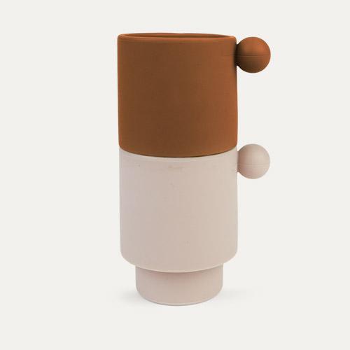 Caramel/Rose OYOY Tiny Inka Cup Set of 2