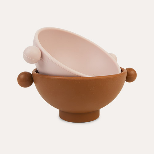 Caramel/Rose OYOY Tiny Inka Bowl Set of 2
