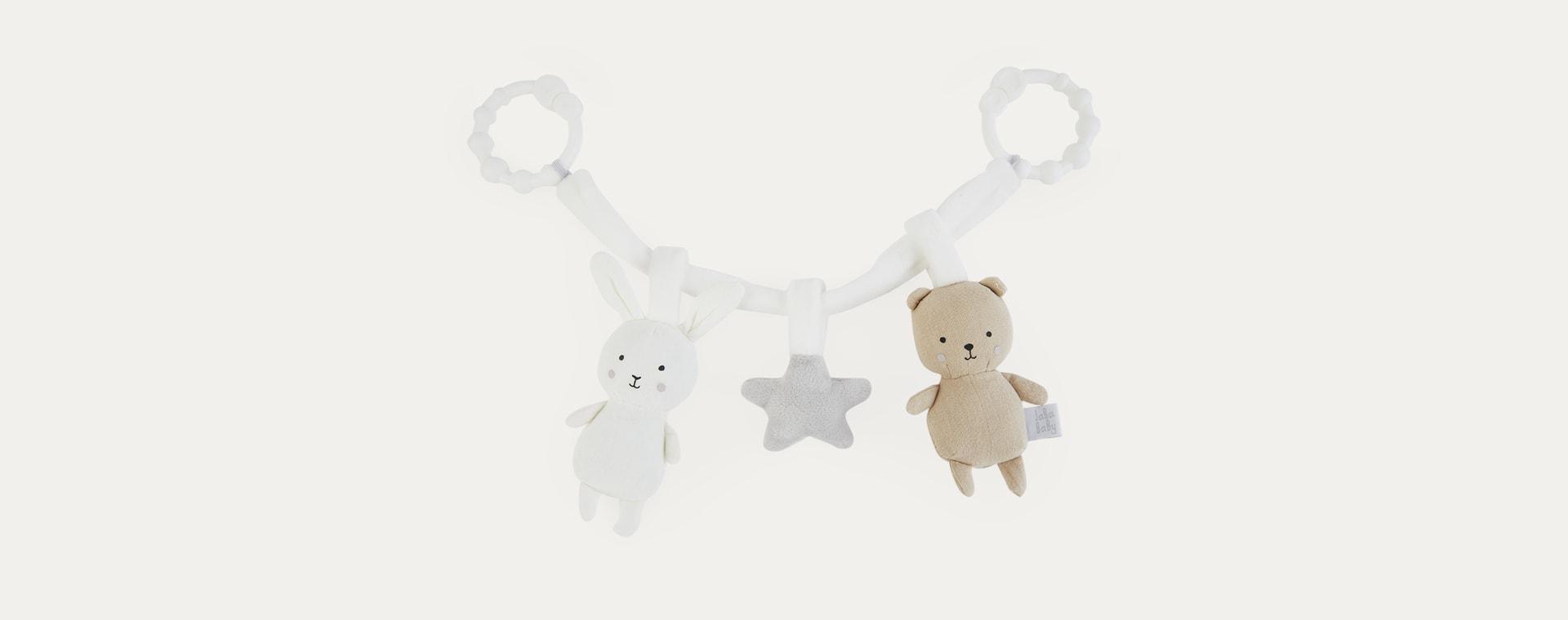 Teddy/Bunny Jabadabado Pram Rattle Chain