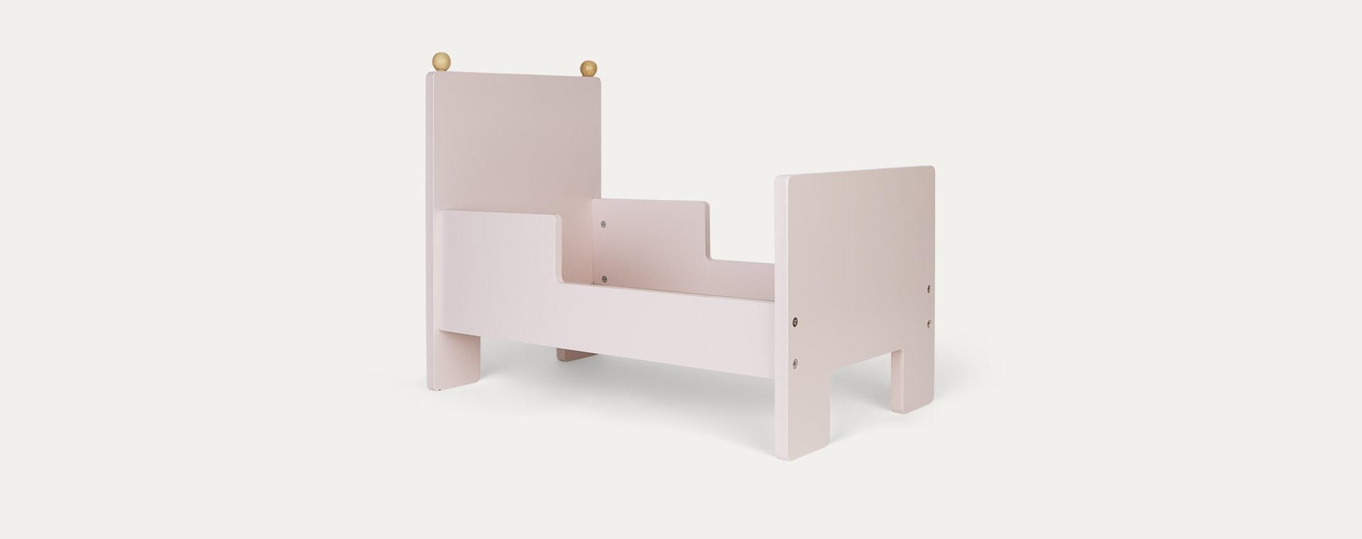 Pink Jabadabado Doll Bed