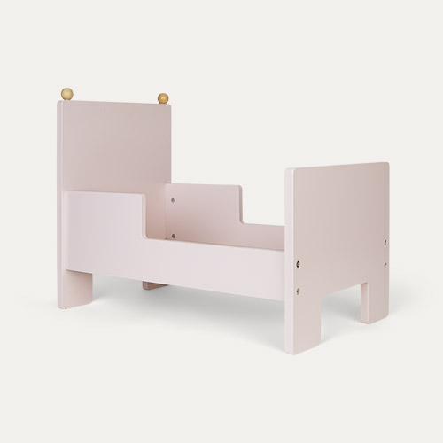 Pink Jabadabado Doll Bed