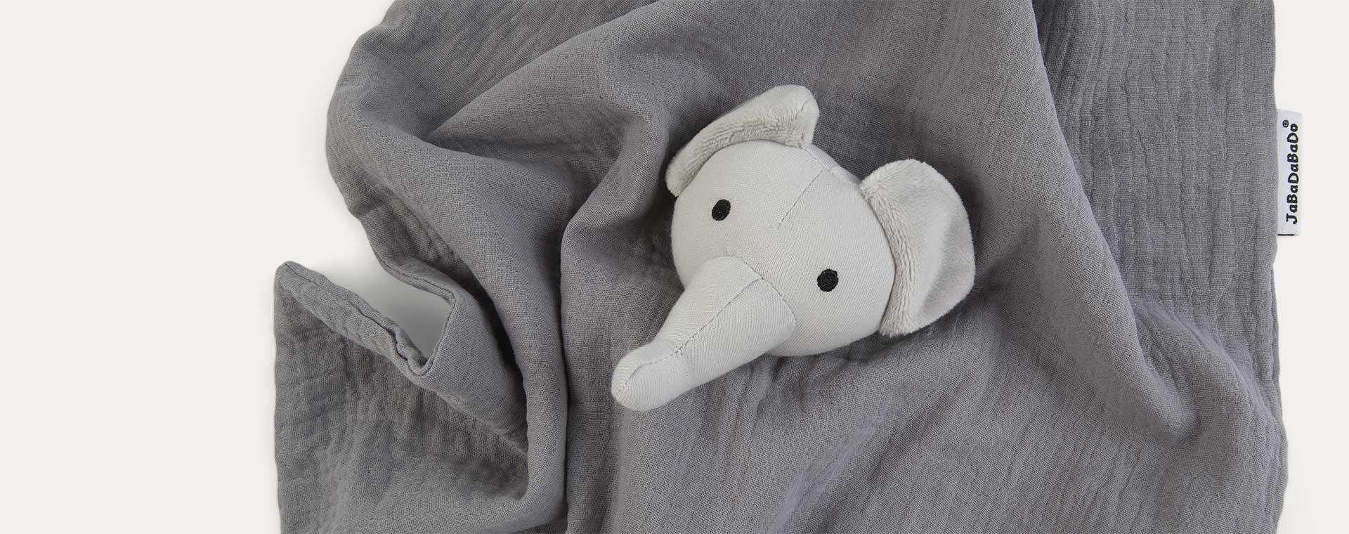 Elephant Jabadabado Cuddle Blankie