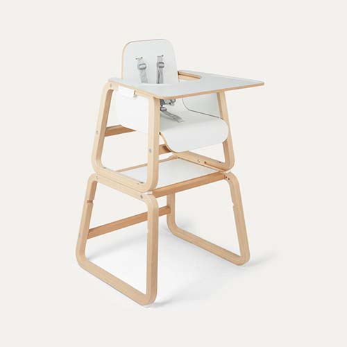 White Knuma 4 in 1 Highchair