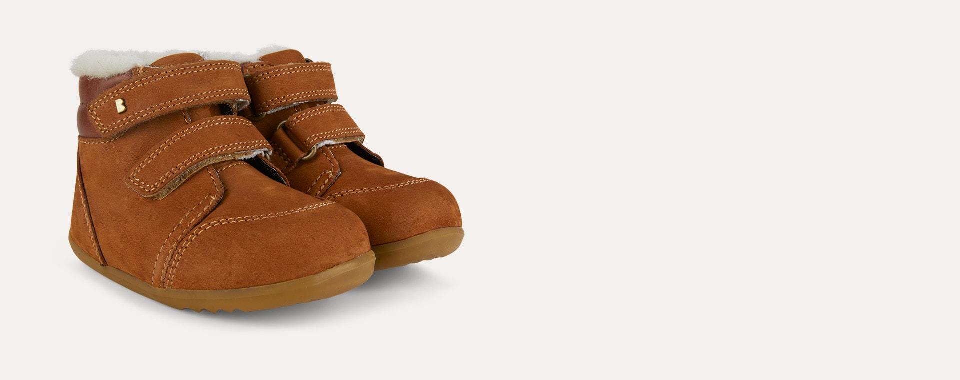 Mustard Bobux Step-Up Timber Arctic Boot