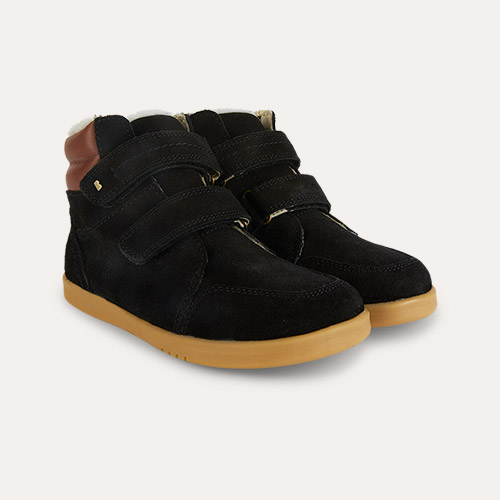 Black Bobux Kid+ Timber Arctic Boot