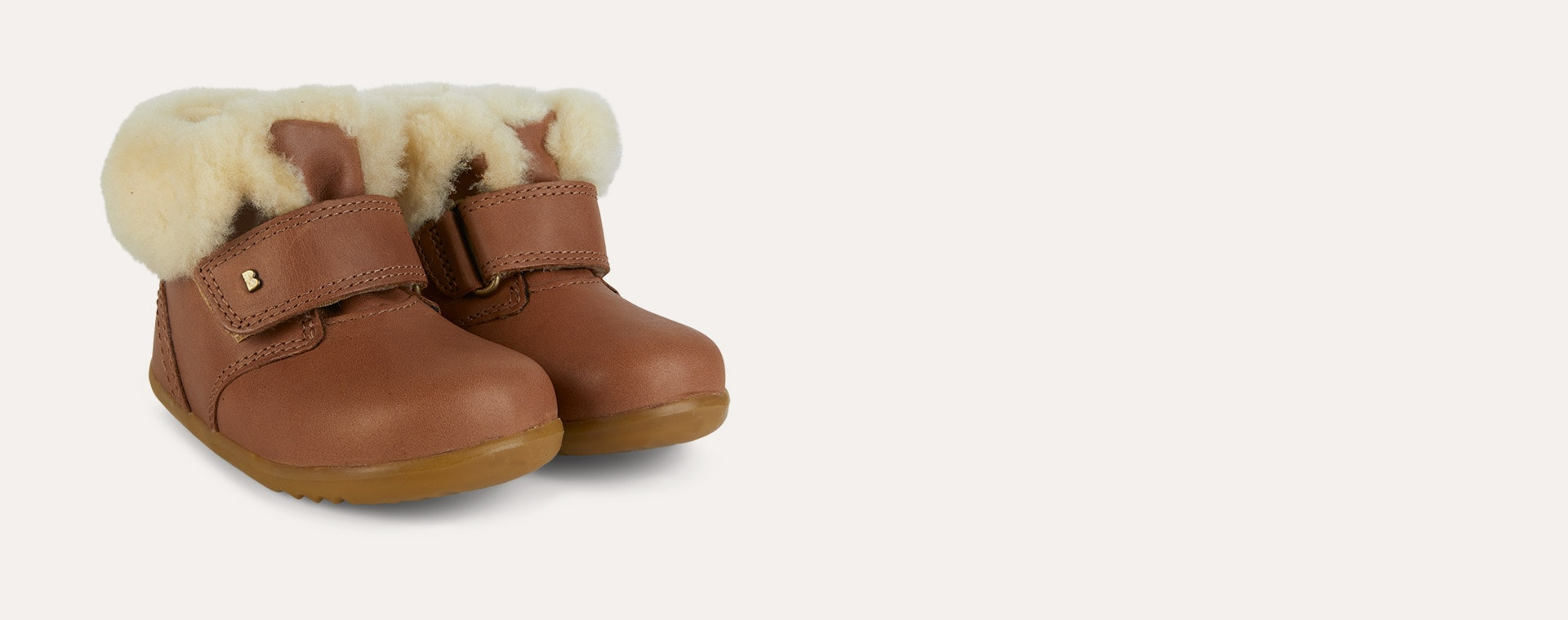 Caramel Bobux Step-Up Desert Arctic Boot