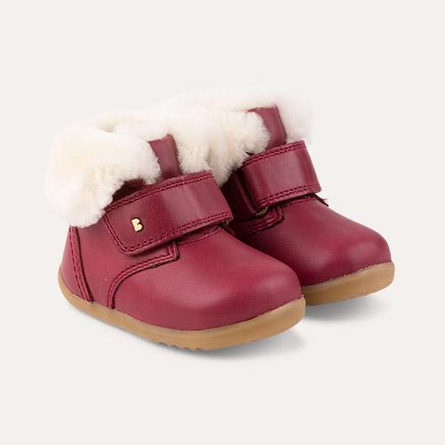 Boysenberry Bobux Step-Up Desert Arctic Boot