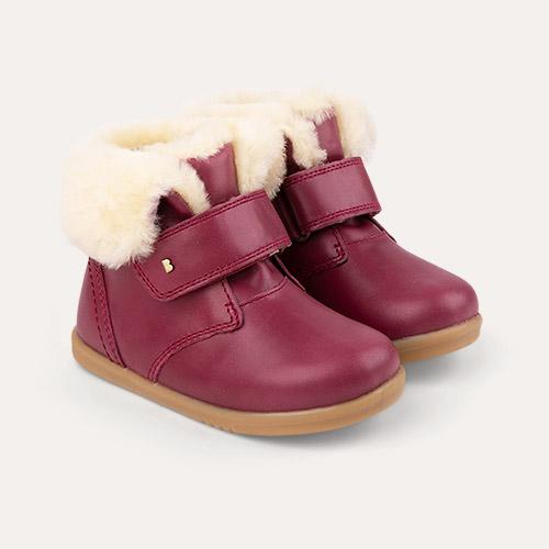Boysenberry Bobux I-Walk Desert Arctic Boot