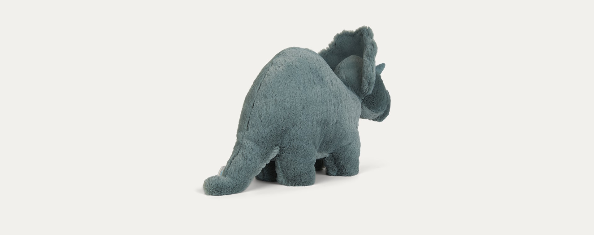 Green Jellycat Fossilly Triceratops