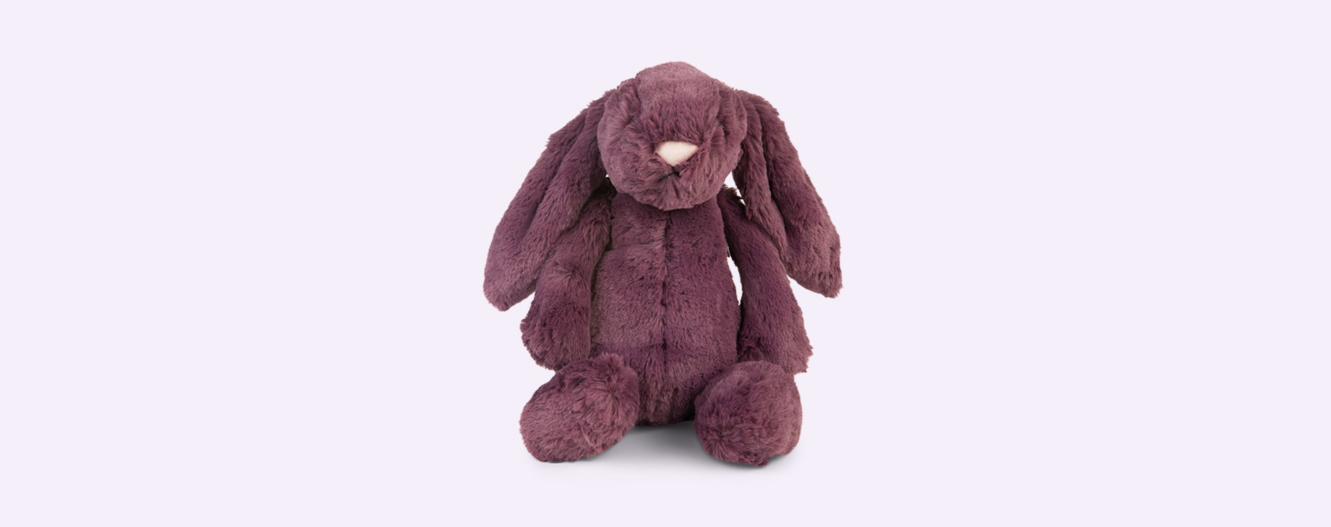 Plum Jellycat Bashful Bunny