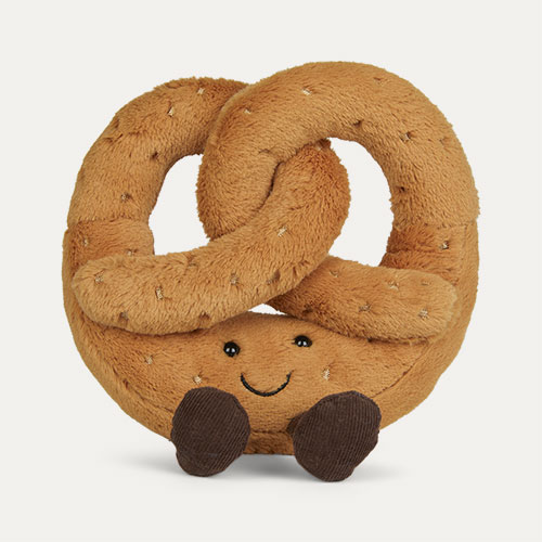 Brown Jellycat Amuseable Pretzel