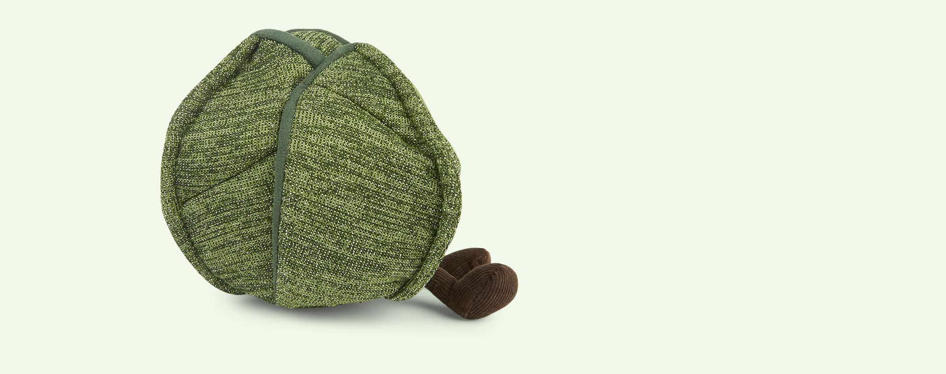 Green Jellycat Amuseable Brussel Sprout