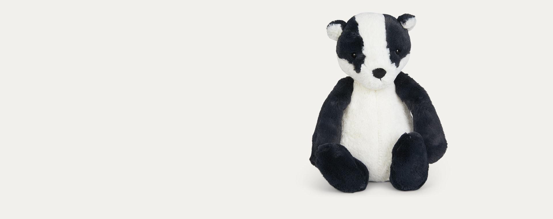 Black Jellycat Bashful Badger
