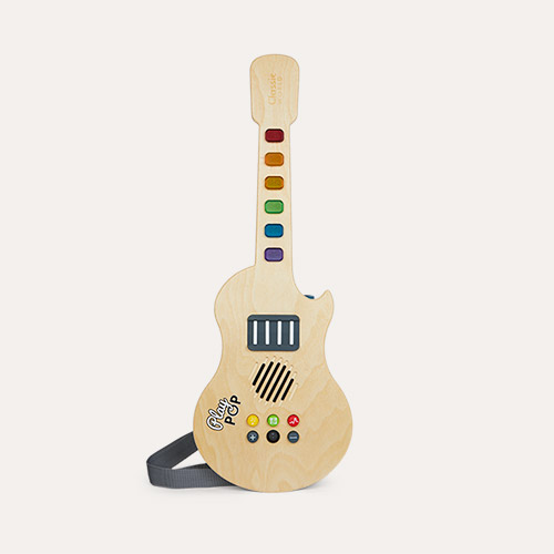 Multi Classic World Glowing Wooden Electric Guitar