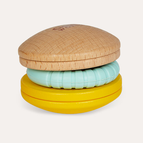 Multi Classic World Macaroon Rattle