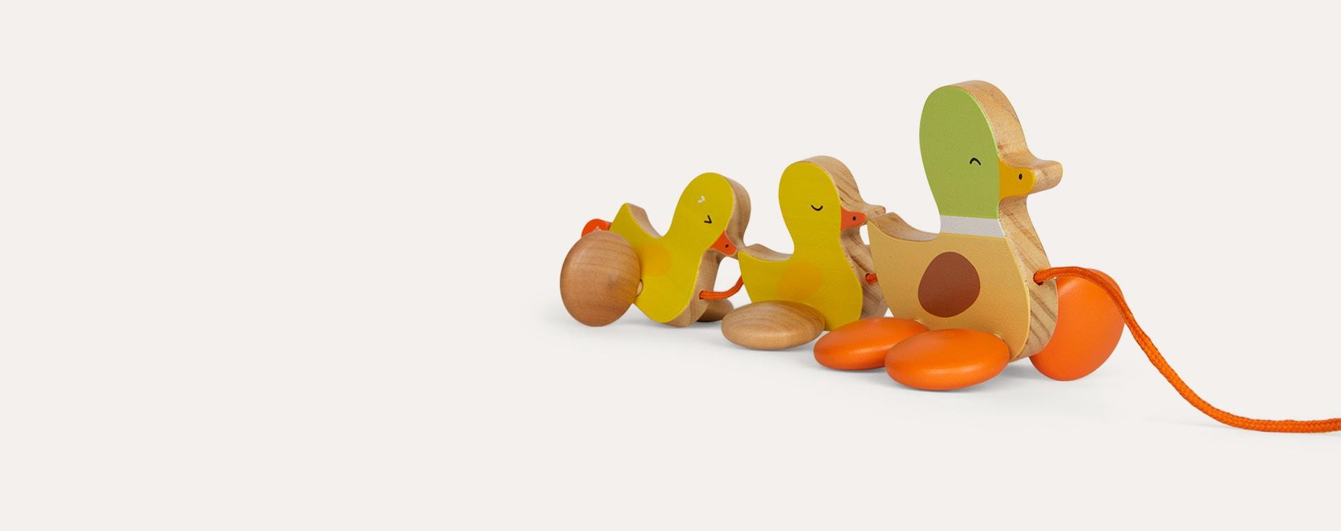 Multi Classic World Paddling Pull Along Duck