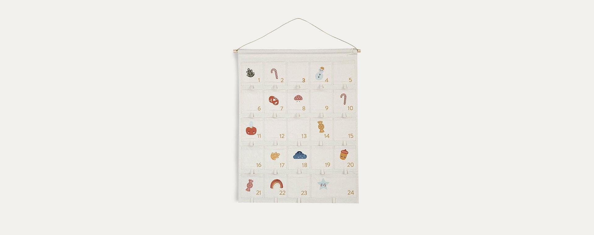 Cream Fabelab Wall Advent Calendar