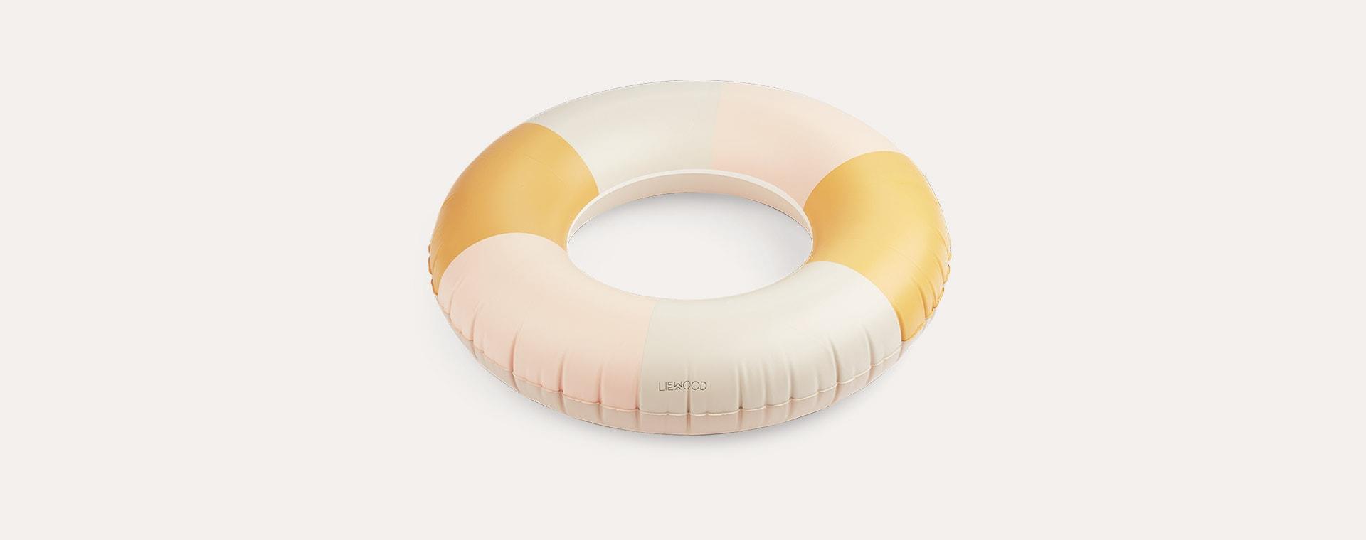 Stripe Peach/ Sandy/ Yellow Mellow Liewood Donna Swim Ring