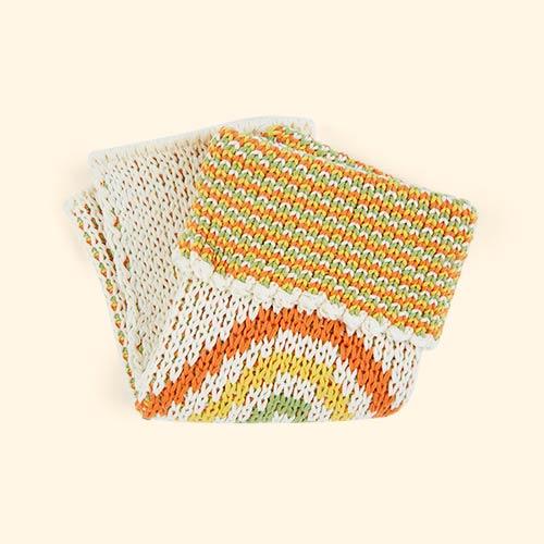 Multi Olli Ella Dinkum Doll Rainbow Blanket