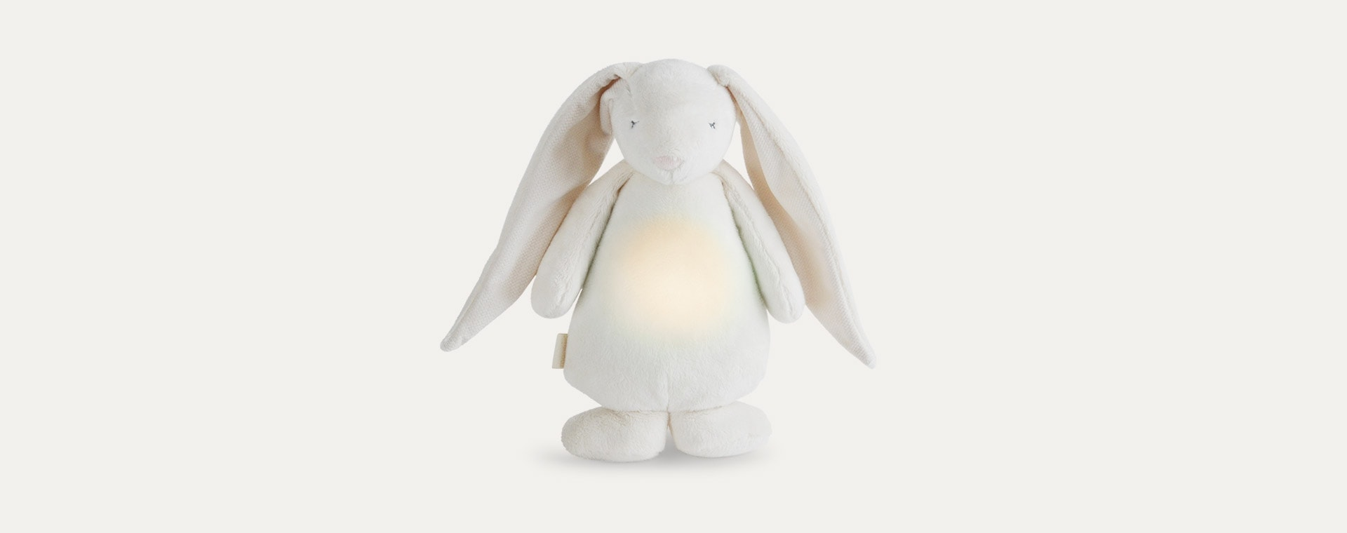 Cream Moonie Noising Rabbit With A Light
