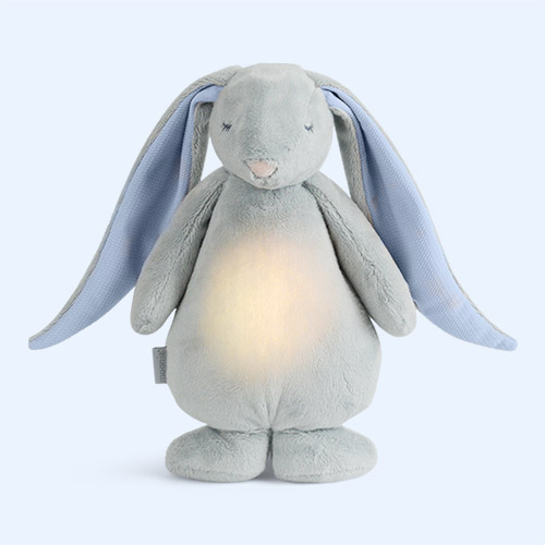 Grey Moonie Noising Rabbit With A Light