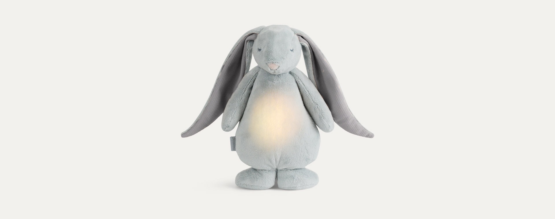 Silver Moonie Noising Rabbit With A Light
